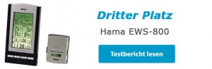 Hama EWS 800 - Dritter Wetterstationen Test