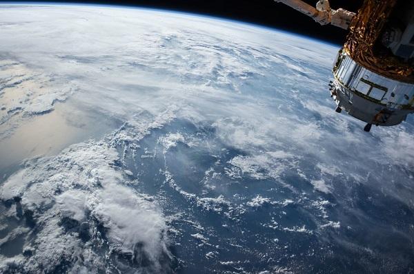 Satelliten-Wettervorhersage-Station